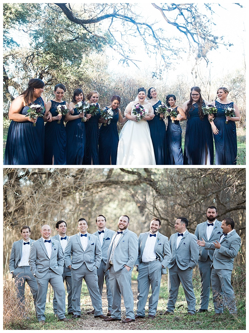 Bridal Party - Walk Ranch Park, San Antonio Texas