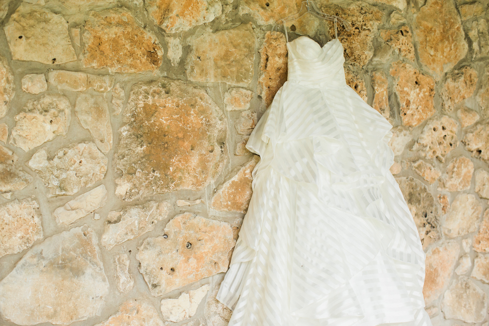 Bridal Dress - San Antonio Wedding Photographer