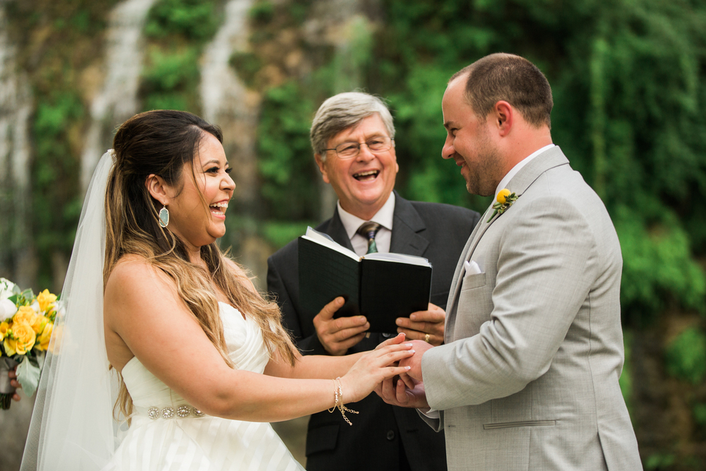 wedding ceremony - hill country