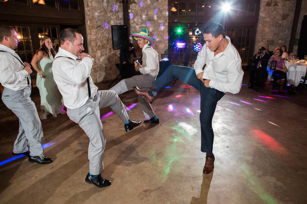 wedding party texas style