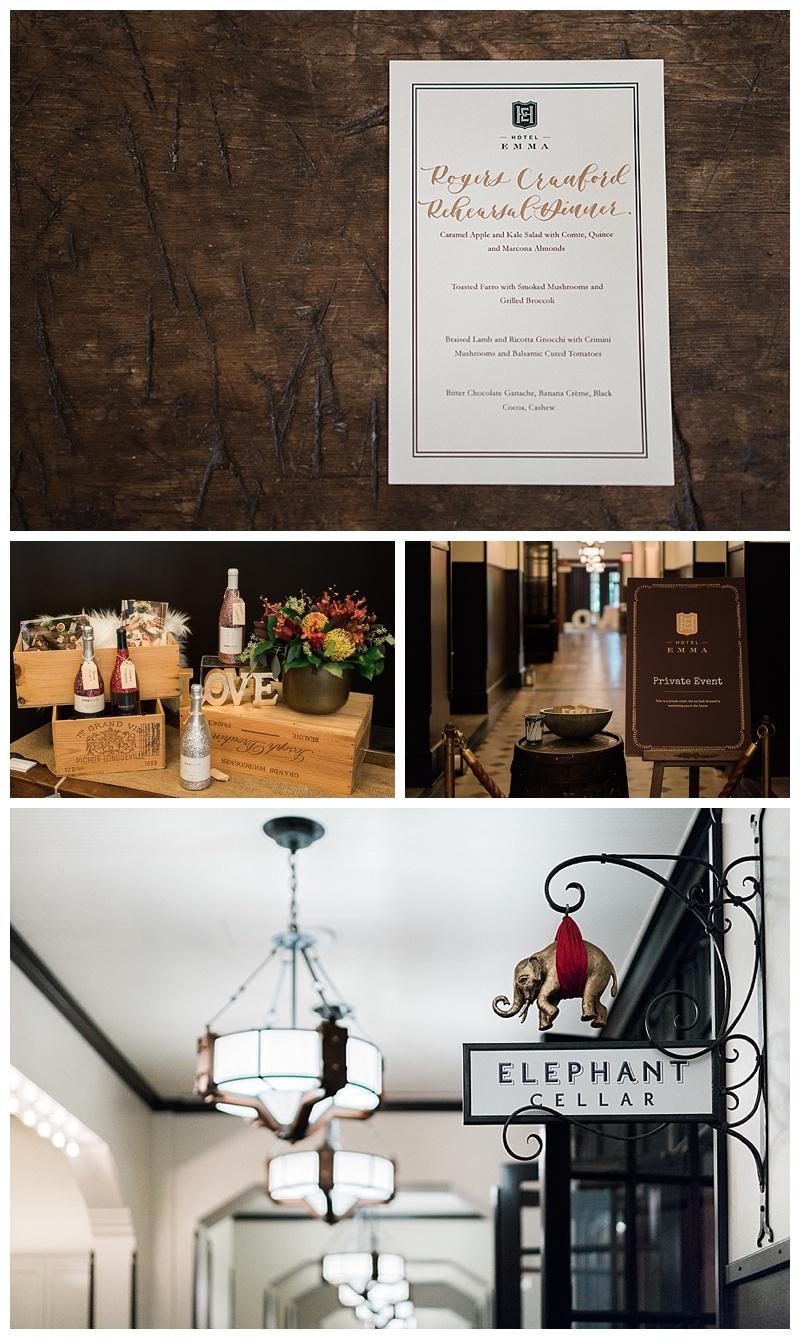 Hotel Emma Date Night - San Antonio Best Wedding