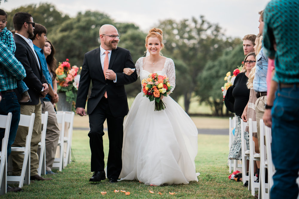 bride and father - san antonio wedding photographer