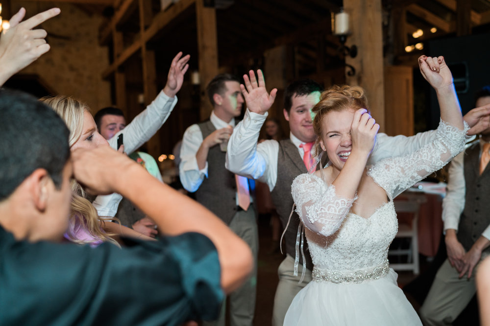 dance dance - texas hill country wedding