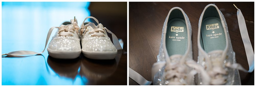 wedding shoes - kate spade keds