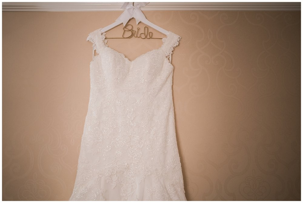 brides dress - embassy suites