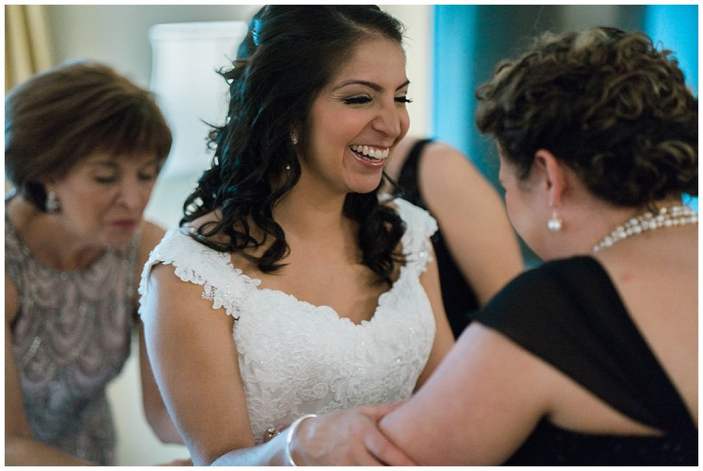 bride getting ready - embassy suites san antonio