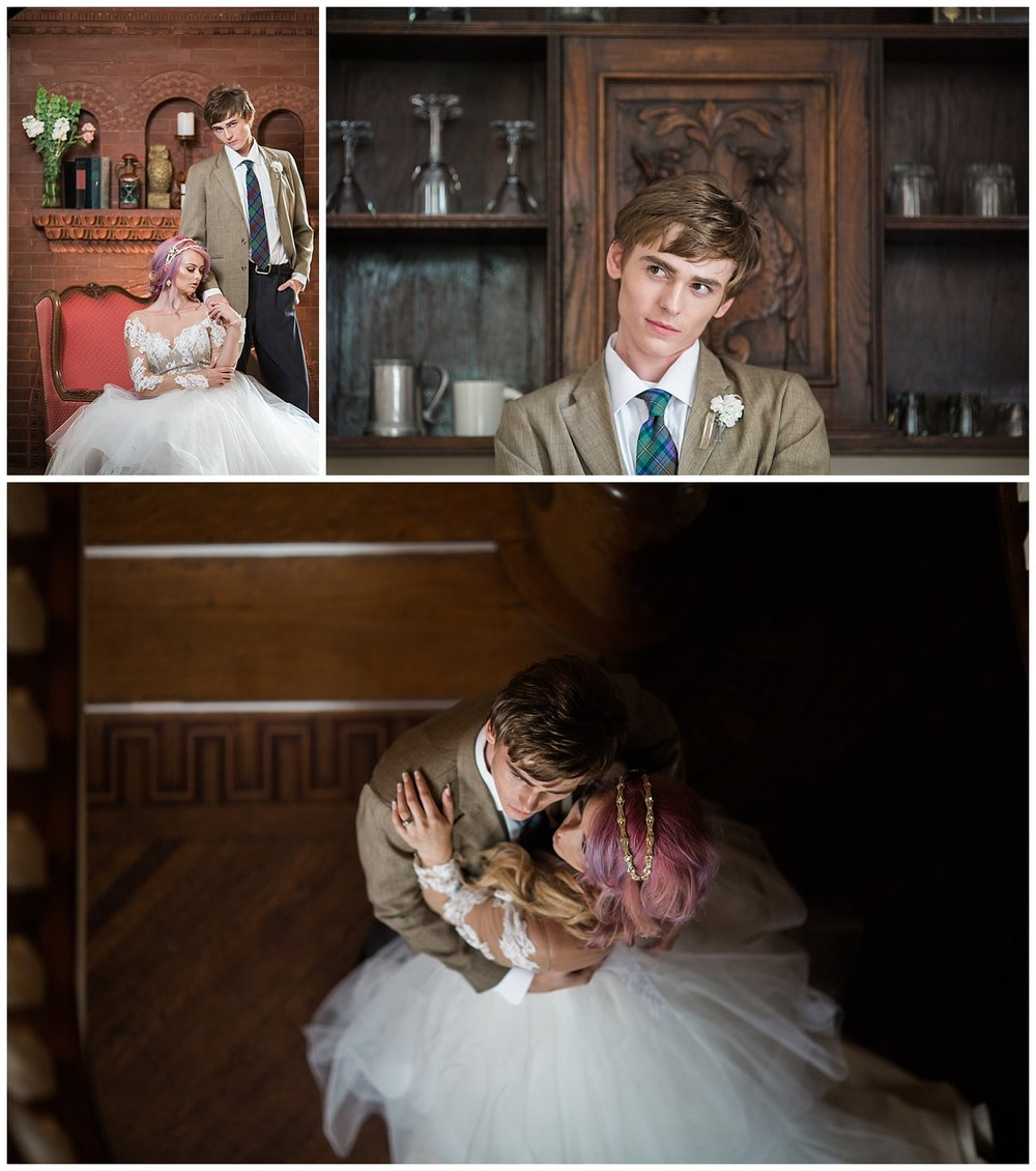 harry potter wedding - details