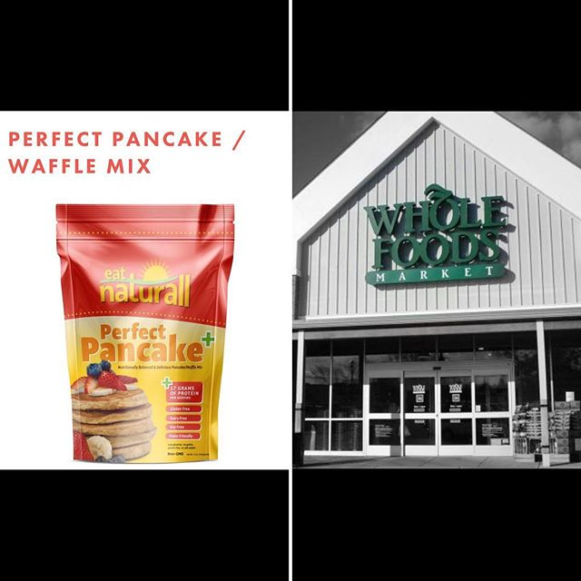 Come to @wholefoods in Glastonbury from 11-3p.m and sample our Perfect Pancake!!! #kidsbreakfast#celiac#healthybreakfast#glutenfree#grainfree#dairyfree#soyfree#nongmo#cornfree#health#womensfitness#cleaneating#allnatural#paleo#proteinpancakes#waffles#justaddwater#gains#wholefoods#weighwatchers