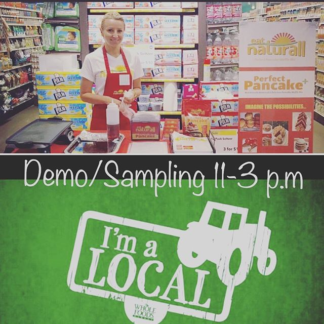 Come join us at Whole Foods Blue Back Square, West Hartford CT this Saturday October 22nd from 11-3 p.m to sample our delicious Perfect Pancake + Mix !!!! Hope to see you there !!!! #ctown#wholefoodsmarket#wholefoods#pancakes#proteinpancakes#proteinwaffles#proteinsnack#glutenfree#celiac#glutenfreelifestyle#glutenfreebaking#grainfree#dairyfree#soyfree#cornfree#chocolatechippancakes#blueberry#bannana#ctrw#gains#cleaneating#healthybreakfast#health#healthyfood#healthyeating#allnatural