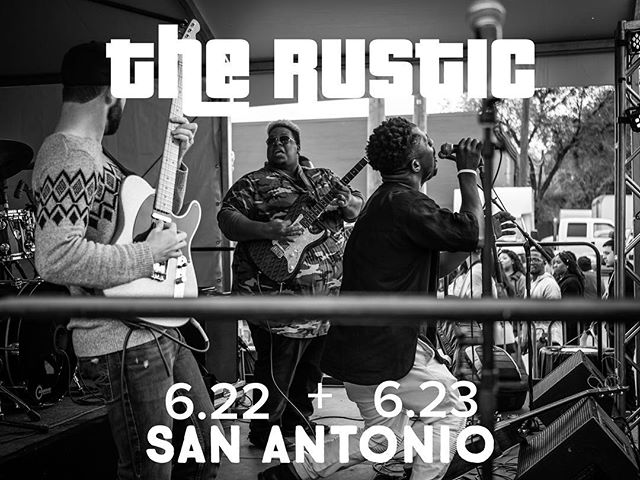 Can't wait to play for you #SanAntonio get down to @therusticsa