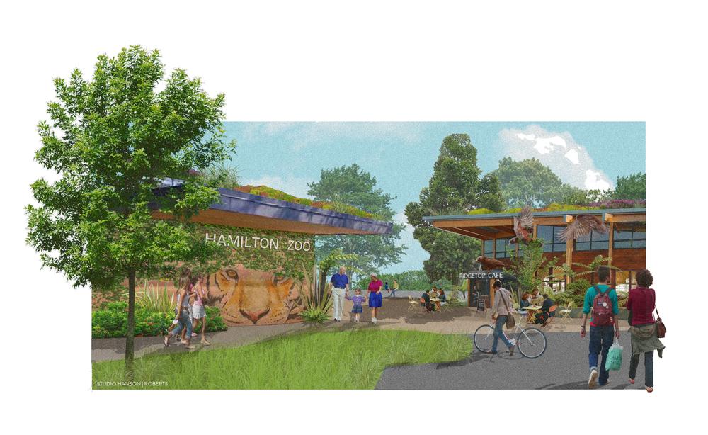 Hamilton Zoo Entry Concept, 2014