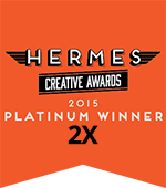 (2X) WINNER OF 2015 PLATINUM   HERMES CREATIVE AWARD  COLONY LOGIC BRANDING CAMPAIGN AND CLX CRM PLATFORM UX AND VX DESIGN