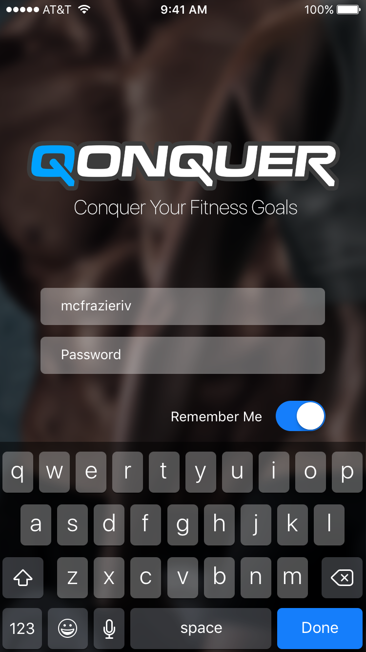 Qonquer-iOS-01a.Login with keys.png