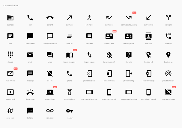 5. Develop Styleguide and Iconography Build a simple symbol library so that iterations can happen quickly and efficiently