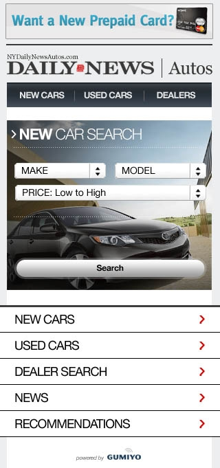 NYDN Autos - Mobile Search