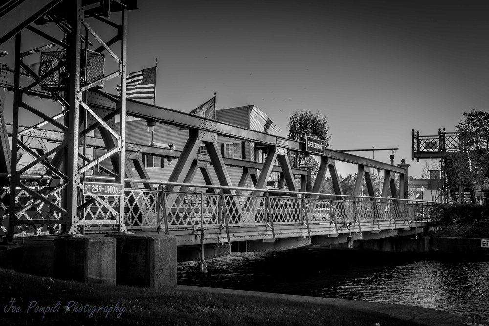 Union Street Bridge- B&W (#2S)