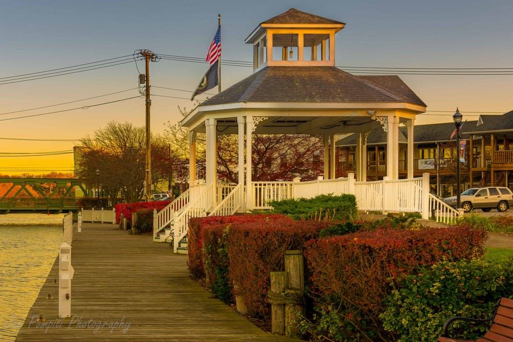 Spencerport Gazebo Looking East (#5S)