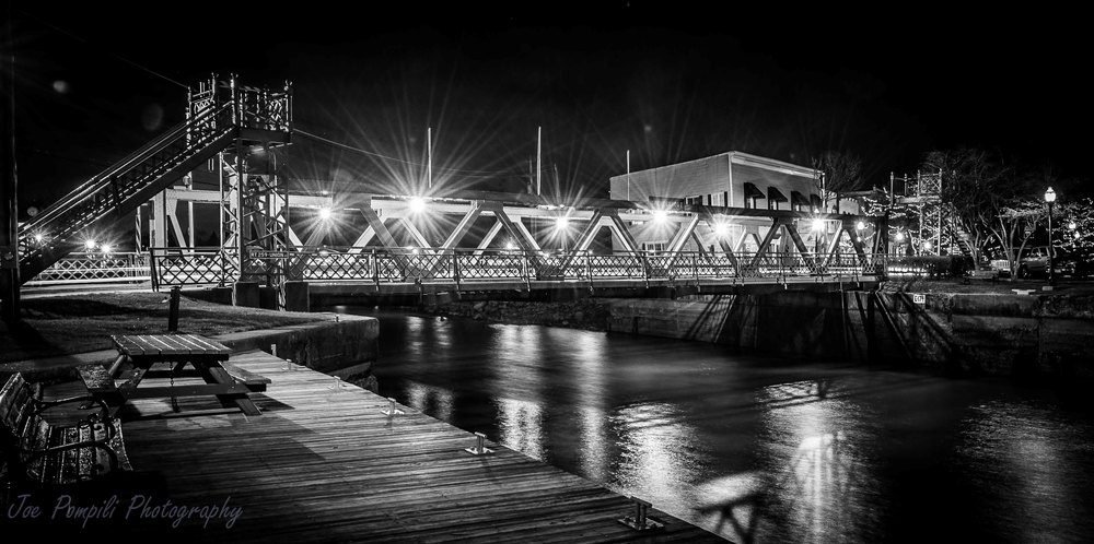 Bridge B&W (#10S) Panoramic