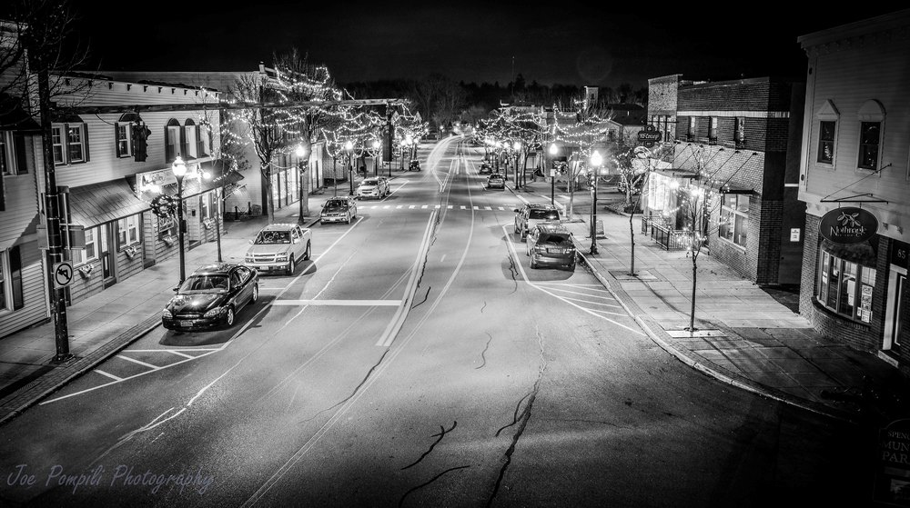 Union Street B&W (#13S) Panoramic