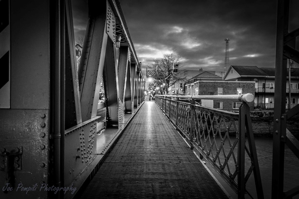 Bridge Walkway B&W (#4B)