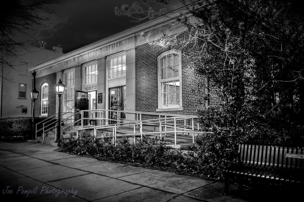 Brockport Post Office B&W (#6B)