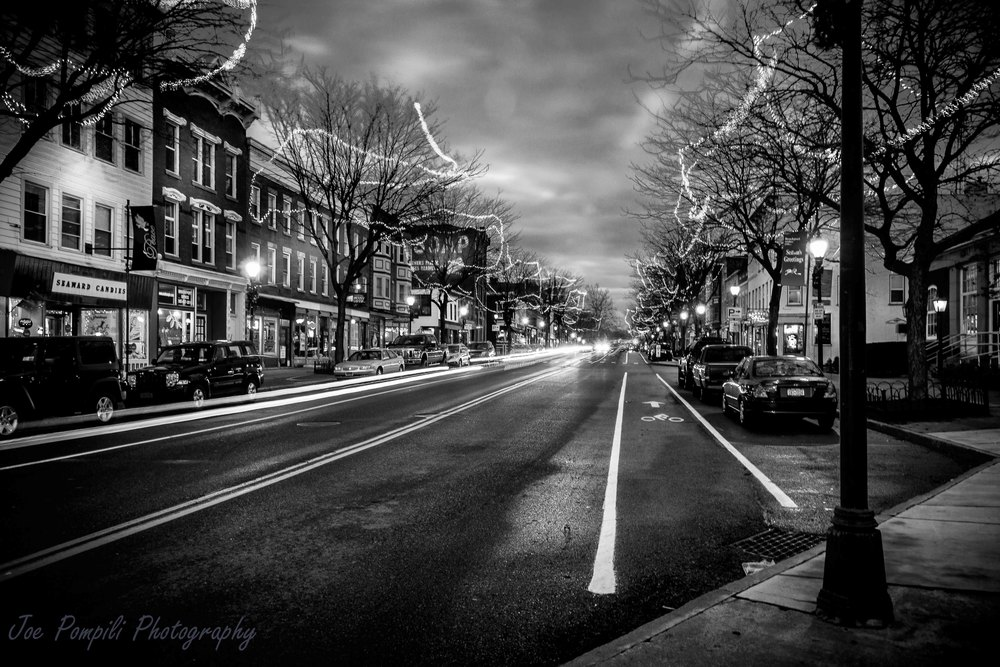 Main Street B&W (#1B)
