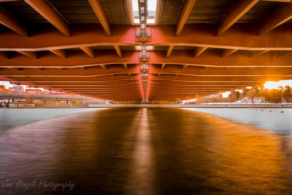 Underbelly of Fredrick Douglass-Susan B. Anthony Memorial Bridge (#10R)