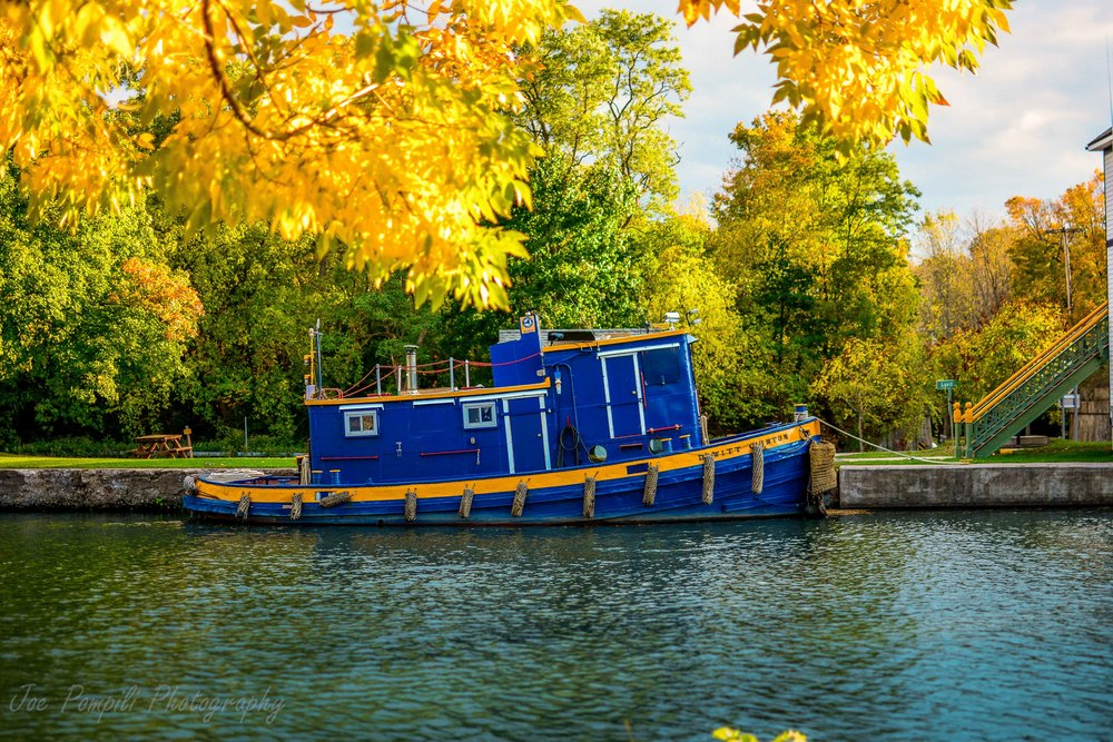 Erie Canal Tugboat- Adams Basin (#2EC)