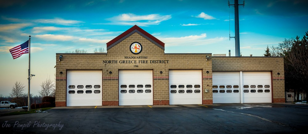 North Greece Fire Dept. (#6G) Panoramic