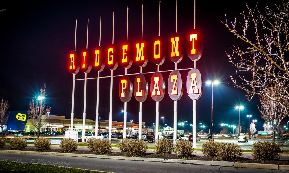 Old Ridgemont Plaza Sign (#12G)