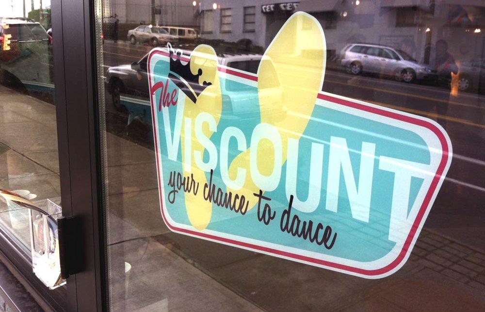Viscount Brand Identity Signage