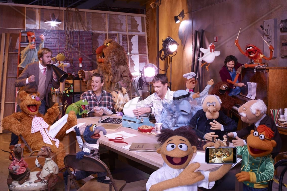 The Muppets with Jason Segel
