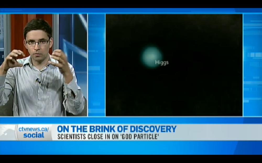 CTV News Higgs Boson