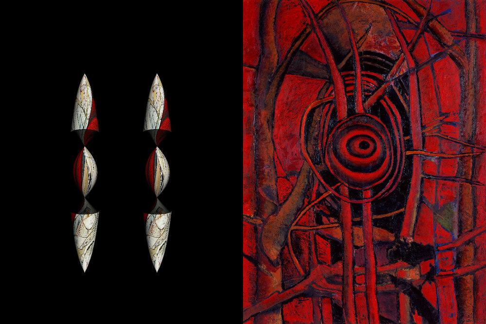 Red Spiral & Pods