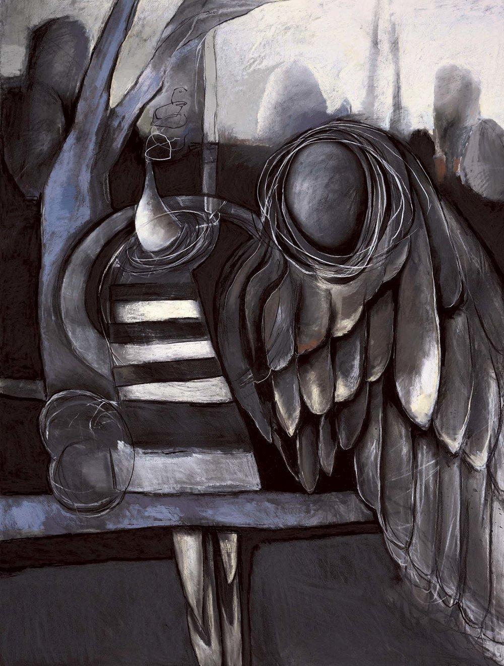 Caravaggio's Angel Wing