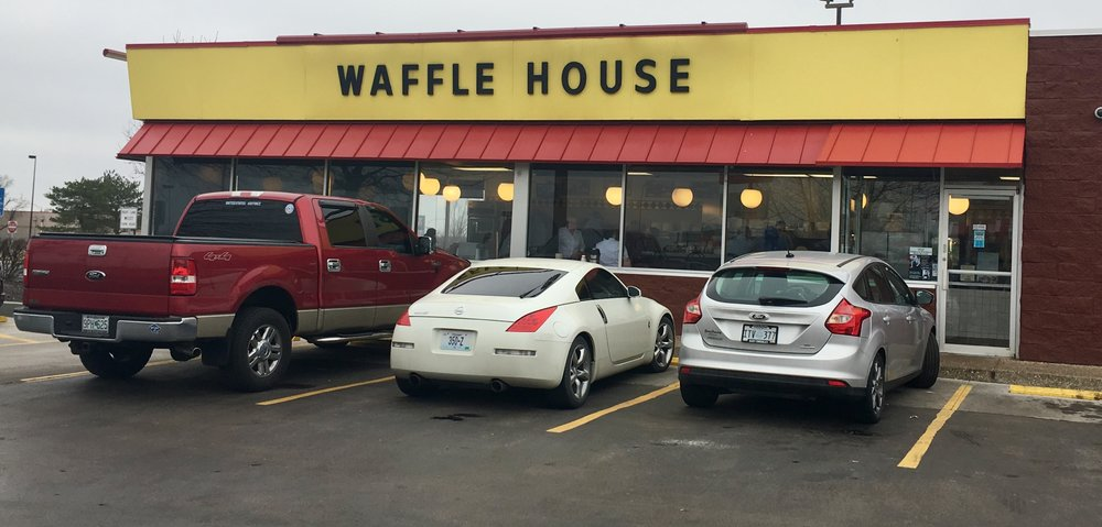 A Waffle House in Missouri.