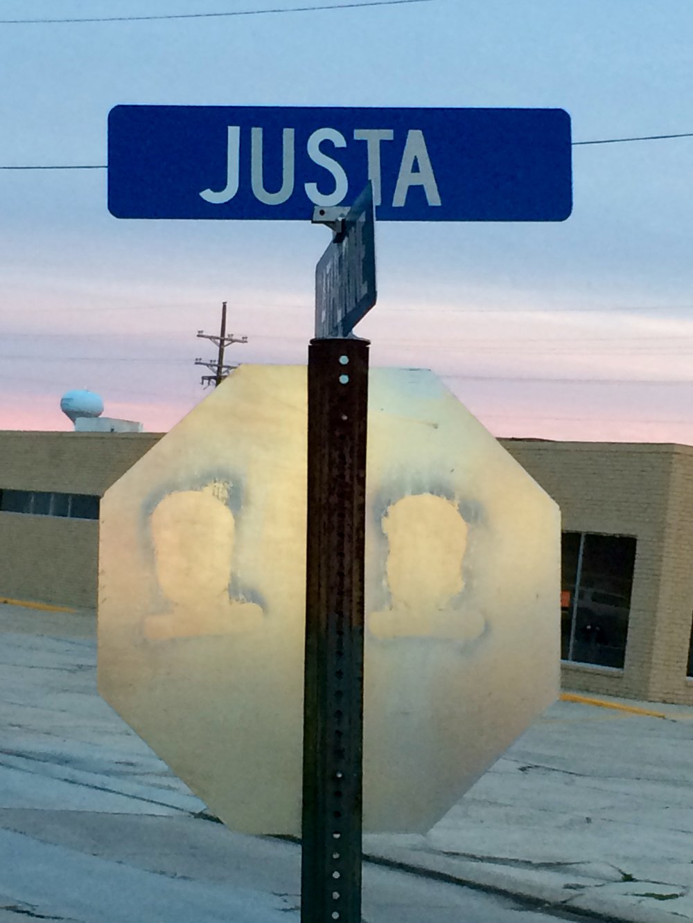 Justa road in Morgan City, Louisiana.