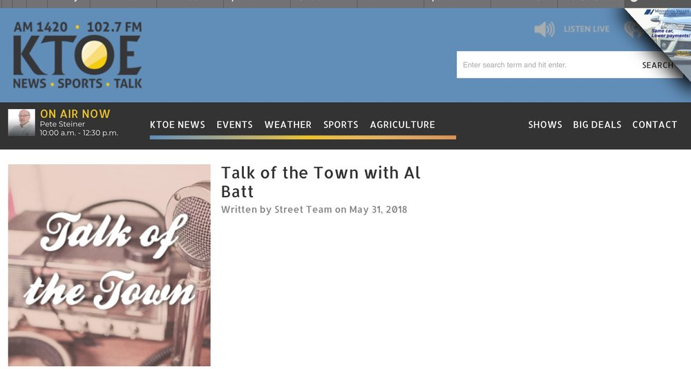 http://www.ktoe.com/2018/05/31/talk-of-the-town-with-al-batt-7/