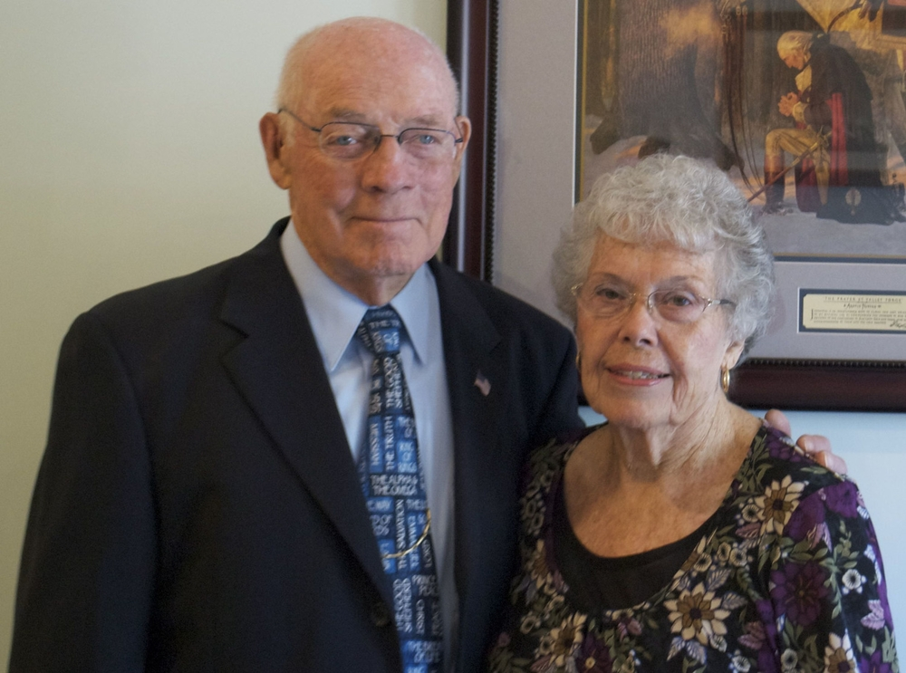 Elder John Kerr and his wife Dolores