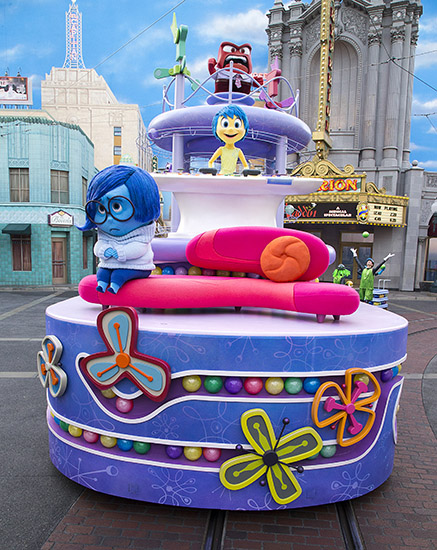 "Disneyland's ""Inside Out"" Float"