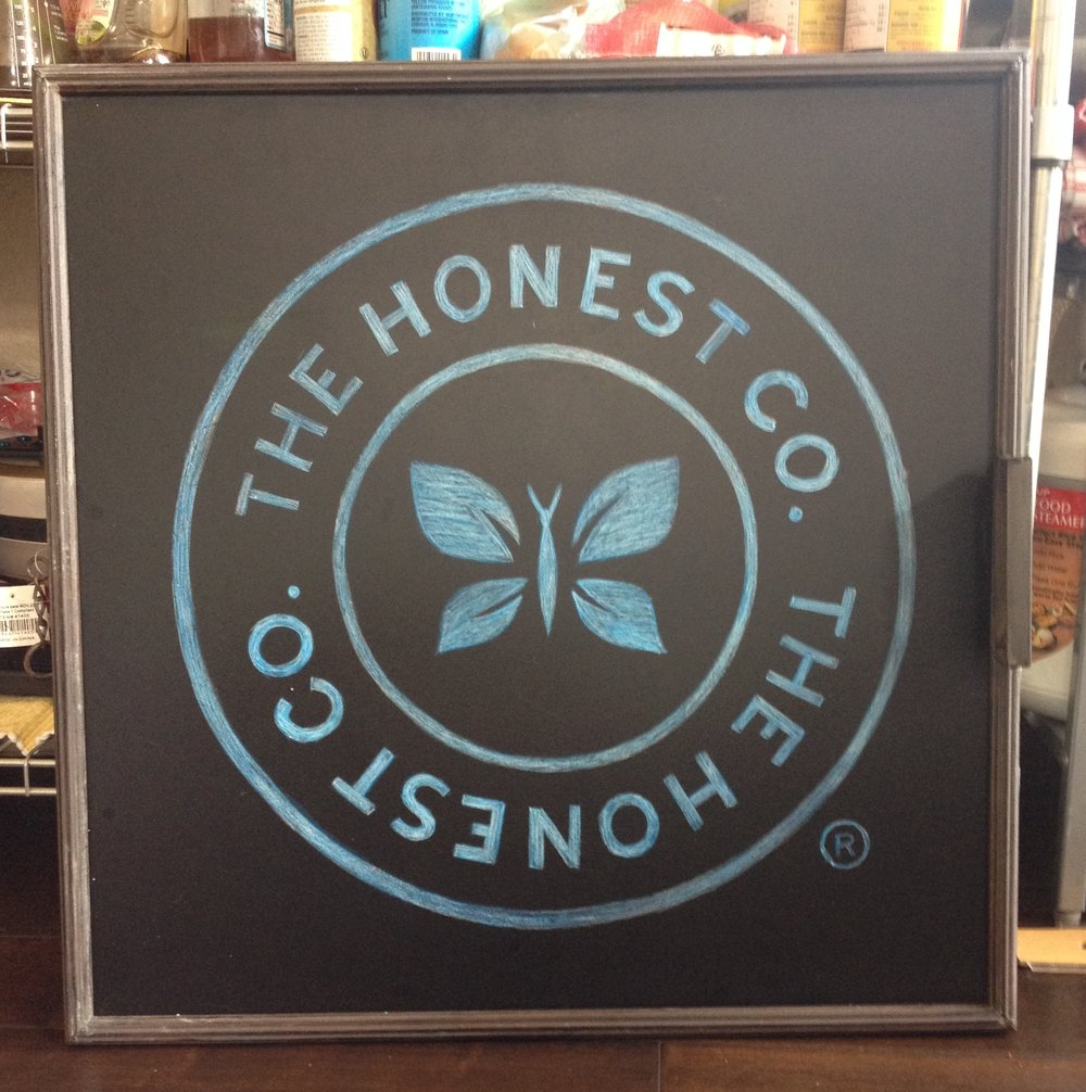 Honest Co. Sign