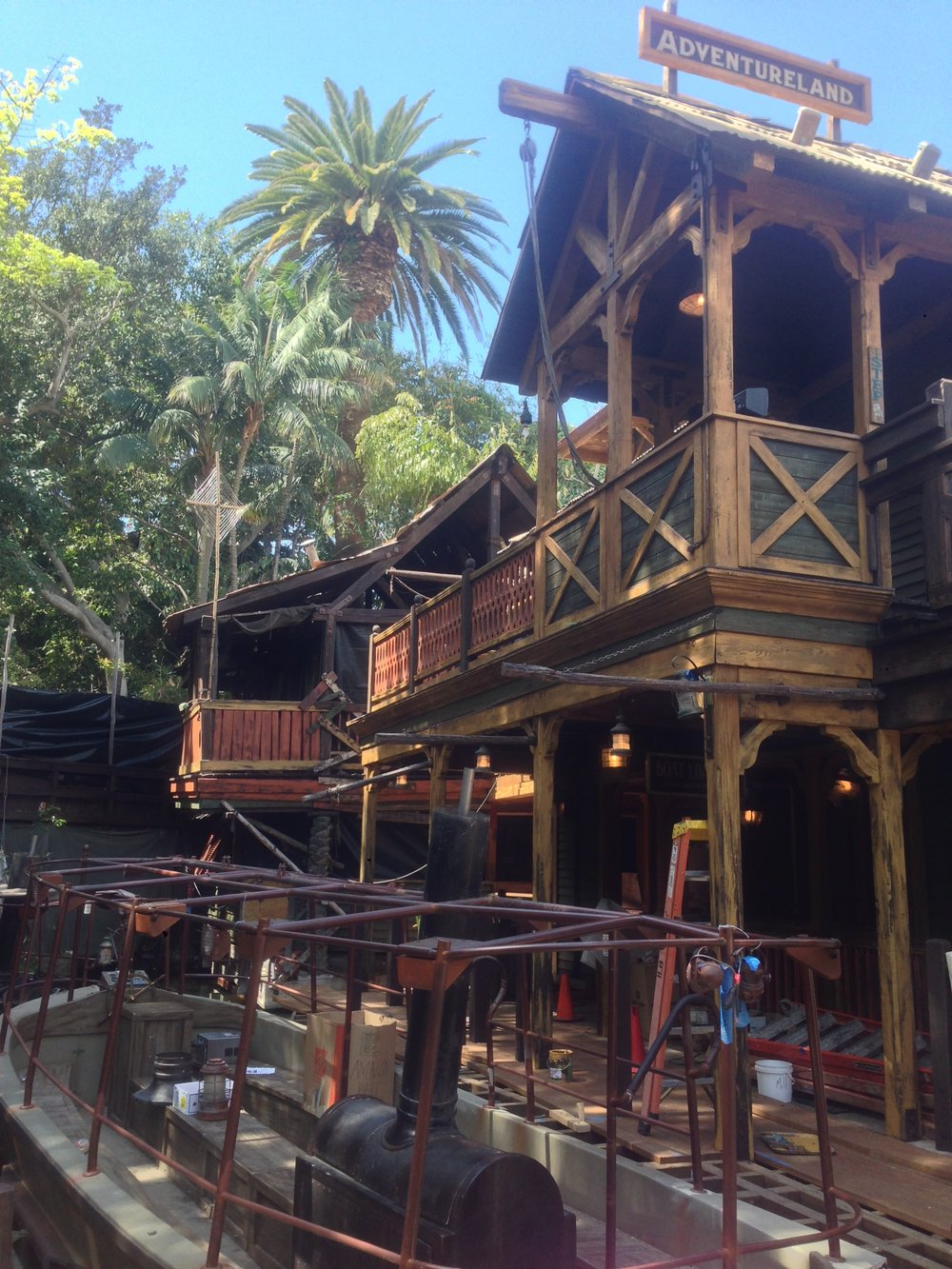 "Disneyland's ""Jungle Cruise"""