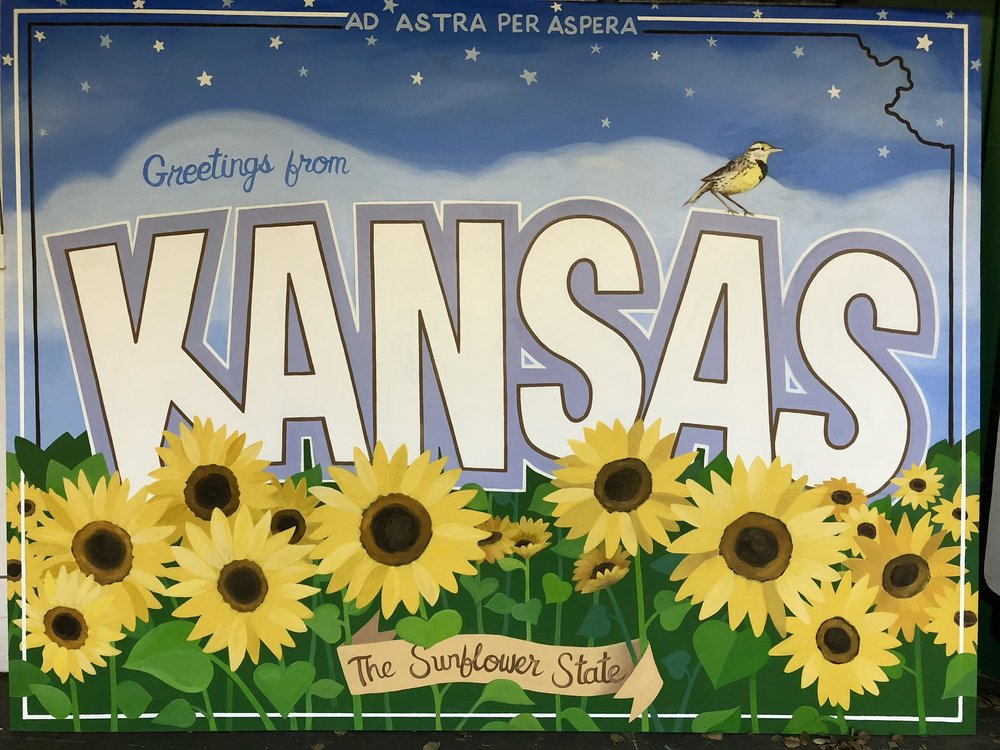 Postcard from Kansas