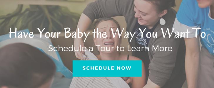 schedule a birth center tour