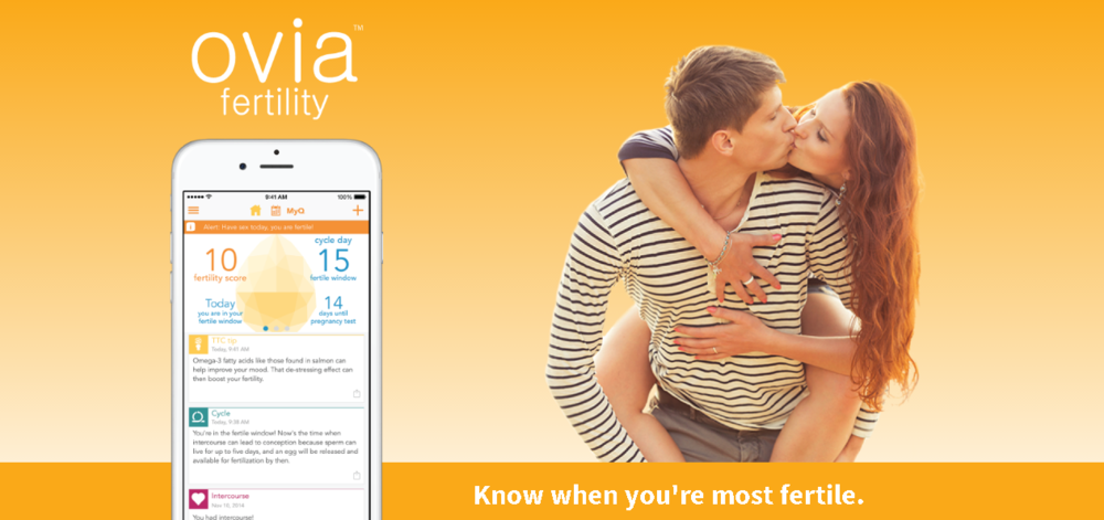 Ovia Fertility App