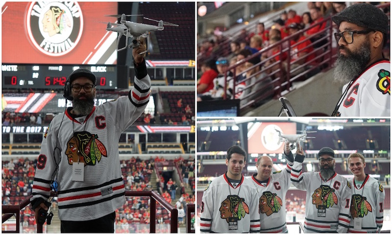 Blackhawks training camp drone team.jpg