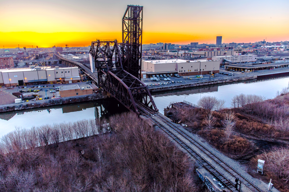 south chicago iron bridge at sunset.png