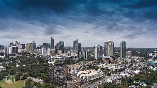 austin tx aerial photo