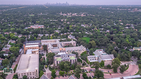 dominican university aerial photo