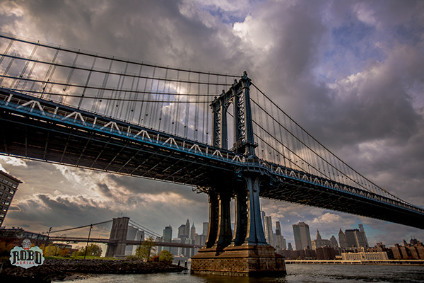 manhattan bridge creative image